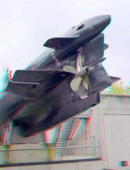 Cite des Sciences Paris 3D (wim hoppenbrouwers) Tags: paris 3d sub anaglyph stereo redcyan citedessciences