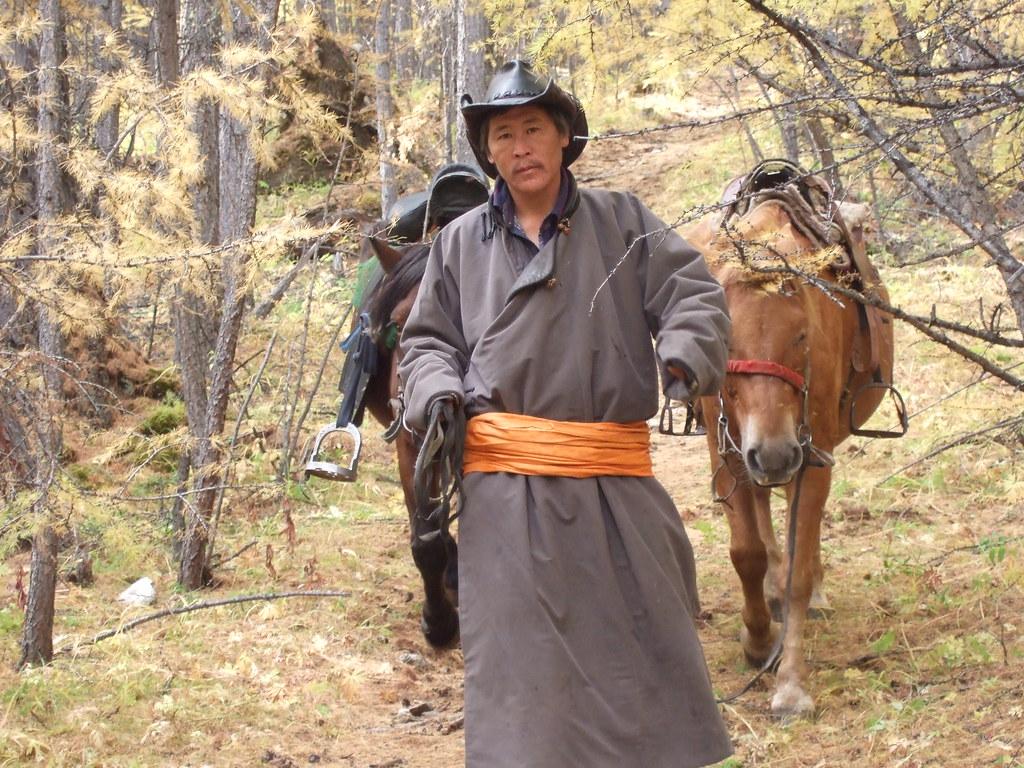 Eleveur Mongol