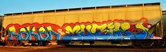 Reken, Muzik (nunya...nunyabusiness) Tags: music art train graffiti paint graf note spraypaint muzik hopper musicnote reken