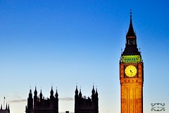 Big Ben (Phima_karntiang) Tags: city uk houses light england building london westminster architecture photoshop landscape big nikon ben britain united kingdom parliament british d5000 1024mm