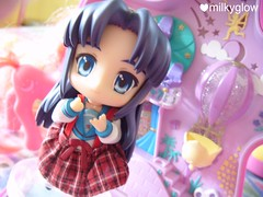 nendoroid pony rainbow land~ (version7) (milkyglow) Tags: little pony kawaii mlp akaya nendoroid milkyglow