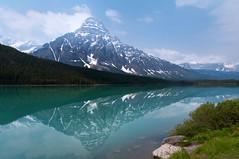IMGP7619-Edit.jpg (greenschist) Tags: lake snow canada mountains water reflections alberta banffnationalpark