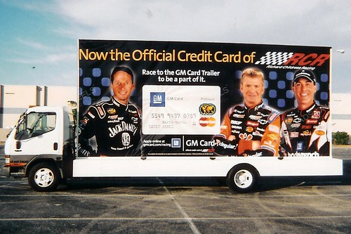 mastercard mobile billboard advertising outdoor