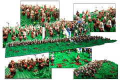 Out Numbered (peggyjdb) Tags: dice english french war lego sleep pit archers crecy edwardiii 100yearwar battleofcrecy phillipvi