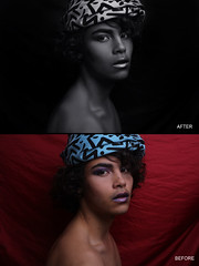 RETOUCHING_BEFORE_AFTER (Abicus Retouching) Tags: blackandwhite model beforeandafter retouching retouched photoretouching