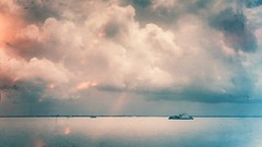 Mighty Padma. (H!ROK) Tags: sky nature clouds river landscape