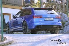Audi RS6 Avant (DoublePphoto) Tags: blue 6 cars sport lights rear audi rs rs6 carphotography willingen automobilphotography