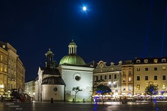 Blue hour in Krakow... (Peppis) Tags: night nikon nightlights nightshot krakow bluehour notte polonia cracovia notturno nightimage fotonotturne polland orablu peppis hccity nikond7000
