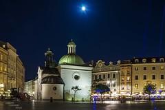 Blue hour in Krakow... (Peppis) Tags: night nikon nightlights nightshot krakow bluehour notte polonia cracovia notturno nightimage fotonotturne polland orablu peppis hccity nikond7000