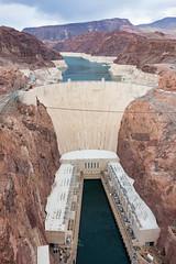 Hoover Dam (rmssch89) Tags: lake wall river concrete high colorado canyon lakemead impressive