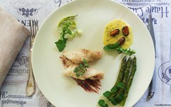 La coda di rana pescatrice dello Chef Michel Kayser (RicetteItalia) Tags: michel pesce foodblog kayser ricette