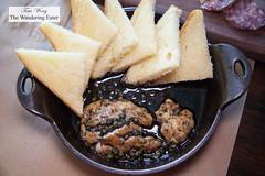 Veal brains, black butter, toast (thewanderingeater) Tags: atlanta georgia brunch buckhead holemanfinch