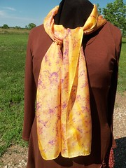 Etsy005 (1) (theresaknits) Tags: silk printing scarves dyeing eco
