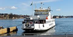 Commuter ferry (bokage) Tags: ferry boat traffic sweden stockholm transport slussen gamlastan oldtown bokage