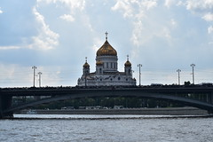 (dinapunk) Tags: bridge church river russia moscow