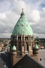 Crossing tower of the Saint Bavo (skylarkair) Tags: haarlem roman basilica gothic moorish romancatholic berlage assyrian debazel saintbavo cathedralstbavo episcopalhierarchy josthcuypers