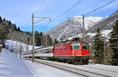 Freschi ricordi (Mattia Domeneghini) Tags: train swiss zug quinto re44 gottardo 11154 gotthardbahn