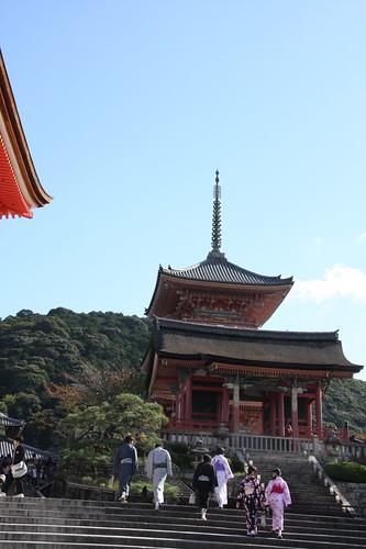 ある風景、清水寺