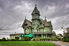 Carson Mansion (Kay Gaensler) Tags: california trip usa architecture club america canon carson geotagged anne eos us spring day cloudy victorian kay roadtrip queen mansion amerika eureka frhling ingomar staaten 2011 vereinigtestaaten vereinigte 40d gnsler gaensler wwwenslerde geo:lat=4080475667 geo:lon=12415895833
