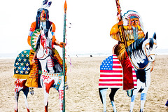 Buffalo Bill and the Indians on the Beach-120 (Thomas Hawk) Tags: sanfrancisco horse beach cowboys cowboy indian oceanbeach indians wildwest buffalobill thomross buffalobillandtheindiansonthebeach