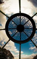 A pavilion that catches your dreams (gibsi (driempixel photos)) Tags: park sky dream fisheye pavilion below pavillon dreamcatcher eyecatcher flickraward 2011francefrankreichsightseeingparis