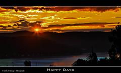 Happy Days (John_Armytage) Tags: sunset sun clouds australia nsw 5d avalon northernbeaches canon70200l canon5dmark11 johnarmytage wwwjohnarmytagephotographycom