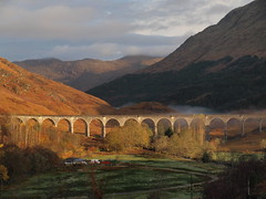 Glenfinnan Viaduct (Gwen!!) Tags: mist earlymorning viaduct glenfinnan