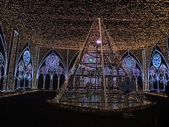 さがみ湖イルミリオン光の大聖堂内部の写真