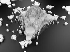 apolloXI (fdecomite) Tags: circle geometry packing math gasket povray tangent recursivity imagej tangency apollonian