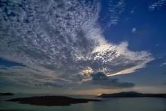 Santorini, Greece (expat-) Tags: travel sunset holiday landscape santorini greece santorin variation expat greecislands flickrstruereflectionexcellence thisphotoisyatbsgroupwinner trueexcellence3