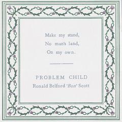 Problem Child (Richard Roberts Printmaking) Tags: screenprint problemchild bonscott richardroberts