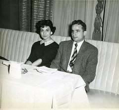 Hakim & Prince Fahad (Arab American National Archive) Tags: blackandwhite vintage 1950s rosemary lebanese classy hakim arabamerican