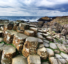 Giant's Causeway (Marioleona) Tags: world ireland heritage site niceshot unesco giants northern paesaggio causeway irlanda patrimonio mariobrindisi mygearandme