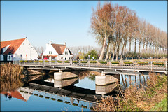 Damme, view of the bridge (Jan 1147) Tags: bridge belgium brug damme