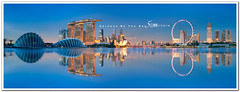 Singapore (fiftymm99) Tags: ocean road park city bridge sea urban reflection garden hotel bay nikon highway cityscape bank tourist business keppel d300 singaporeskyline gardensbythebay marinabaysands fiftymm99 gettyimagessingaporeq2 singaporeseaport