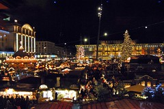 Striezelmarkt in Dresden (Tobi_2008) Tags: christmas germany deutschland dresden nightshot market saxony weihnachtsmarkt sachsen allemagne germania nachtaufnahme striezelmarkt supershot diamondclassphotographer flickrdiamond