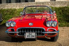 Chevrolet Corvette (dprezat) Tags: chevrolet corvette classic cars automobiles collection vincennes vincennesenanciennes nikond800 nikon d800