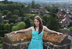 early imogen by unexpectedtales - taken from the top of our village church tower.  See more photos of Imogen in my 'Imogen' set.