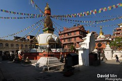 Kathmandu, Nepal - Kathesimbhu Stupa (GlobeTrotter 2000) Tags: street travel nepal vacation playing tourism children asia quiet peace place stupa flag prayer peaceful visit explore tibetan kathmandu serene thamel kathesimbhu katmandou