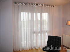 "Cortinas Modernas en La Dama Decoración • <a style=""font-size:0.8em;"" href=""http://www.flickr.com/photos/67662386@N08/6501445707/"" target=""_blank"">View on Flickr</a>"