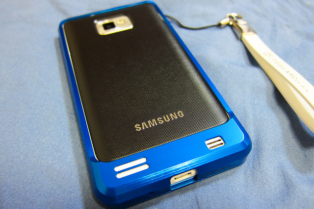 GALAXY S II with Aluminum Case