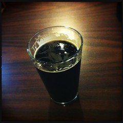 Bell's Double Cream Stout (ibkc) Tags: stilllife beer northcarolina squareformat loftus iphone4 iphonephotography iphoneography hipstamatic