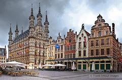 Leuven - Grote Markt - Belgium (Frank Smout) Tags: leuven belgium belgique gothic markt louvain grotemarkt grote