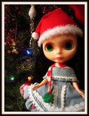 ana and the christmas tree