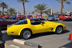 CORVETTE (mb.560600.kuwait) Tags: show classic car photo am nikon pontiac gto kuwait trans corvette oldsmobile 442