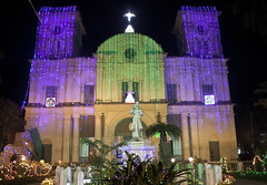 Chandannagore church - Christmas Night (Sandeep Santra(Searching Jobs ~ A Bit busy)) Tags: christmas india building church night merrychristmas christmasnight incredibleindia chandannagar chandernagore mygearandme