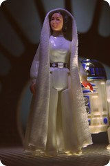 Diplomatic mission to Alderaan (beru whitesun) Tags: vintage actionfigure starwars princess kenner leia anewhope organa episodeiv blockaderunner tantiveiv