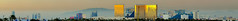 west sunset strip skyline (pbo31) Tags: city sunset panorama color reflection yellow skyline gold hotel nikon december view lasvegas nevada large panoramic casino thestrip stitched townsquare 2011 d700 southlasvegasboulevard westsunsetroad