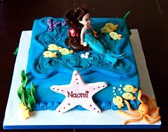 Naomi's mermaid birthday cake (Johnson Ogunniyi (Justcaptured)) Tags: birthday cake mermaid
