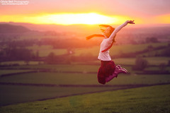 Touch the Sky - Jump #47 of #100 (Olivia L'Estrange-Bell) Tags: autumn jump autumnleaves jumps englishcountryside autumnsun canoneos5dmarkii oliviabell oliviabellphotography 100jumps 100jumpsproject 100jumpphotographs tbsart